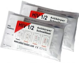 2 HIV Schnelltest Set