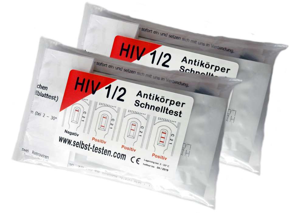 HIV Test Doppelpack